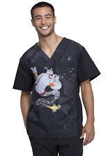 Goofy Cherokee Scrubs Tooniforms Disney Mens V Neck Top TF712 MKFY