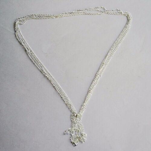 PF 1.5mm Silver Metal Chain BJD Dollfie Jewelry Necklace Bracelet Diy Crafts