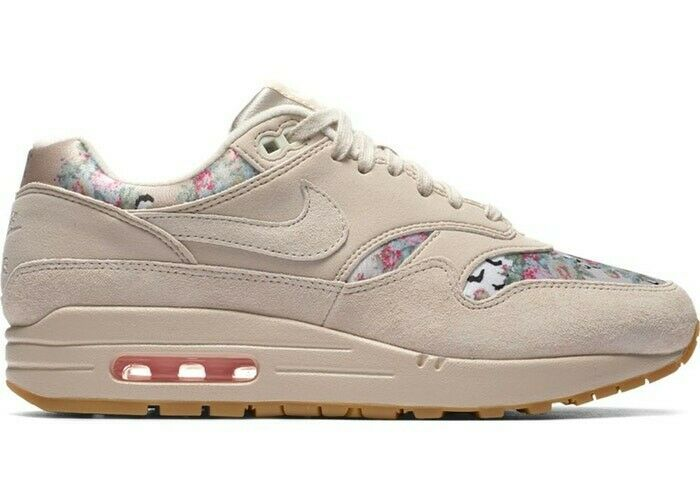 Womens Air Max 1 Floral Desert Sand UK Size  7.5 EUR 42