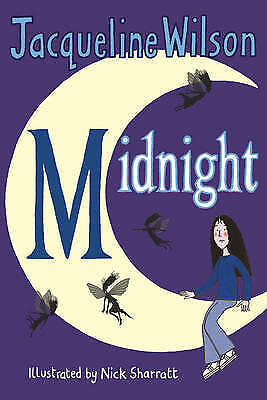 Midnight by Jacqueline Wilson, Good Used Book (Paperback) Fast & FREE Delivery!
