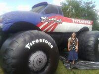 Huge big Foot Outdoor Inflatable Promotional Balloon