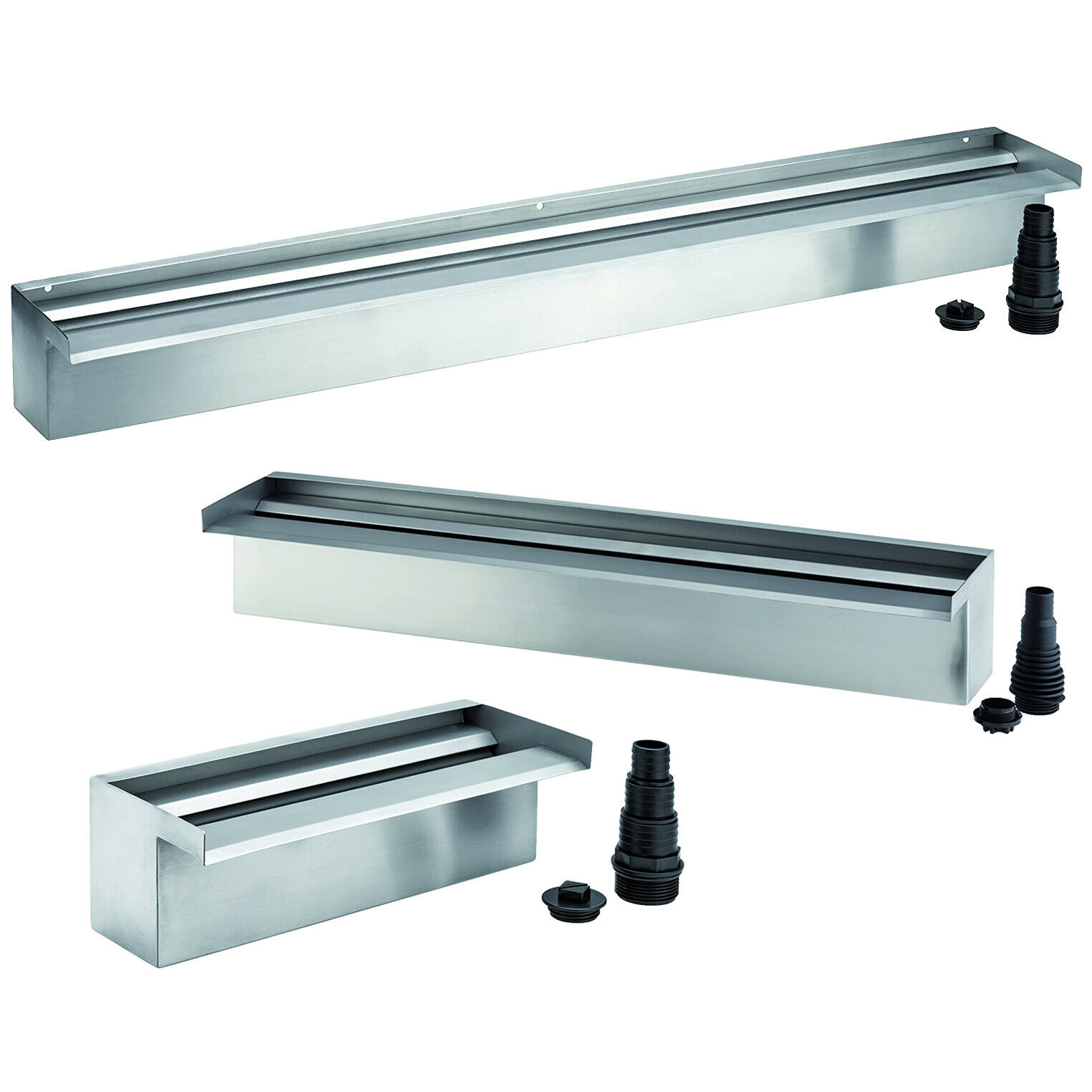Oase Pond Waterfall 30 60 90 Water Blade XL LED Light Feature Stainless Steel
