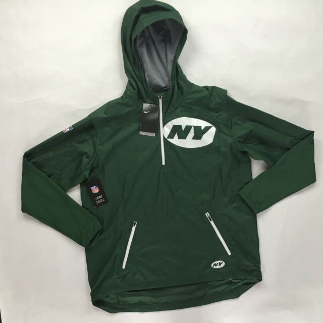 bb387a24 Nike NFL New York Jets Fly Rush Jacket Green White 837113-323 Men's S-XXL
