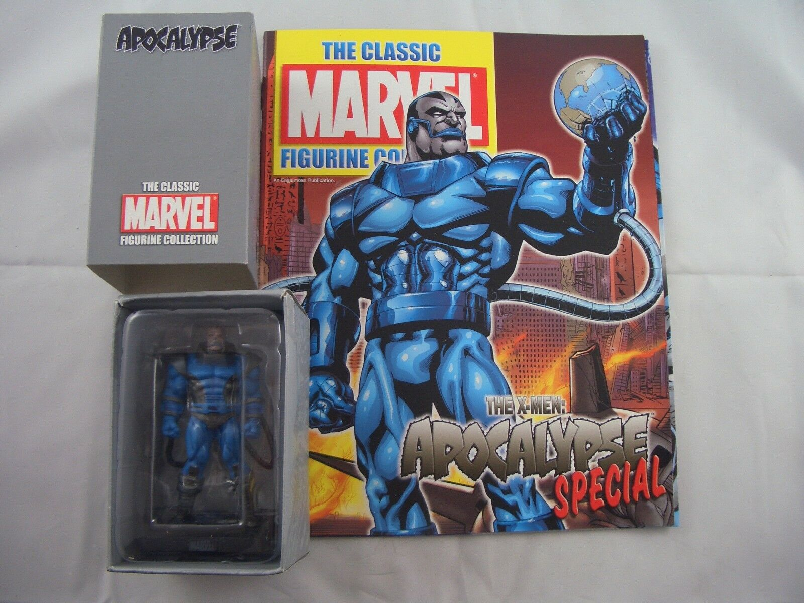 Eaglemoss Marvel Figurine Special Collection Collection Collection Apocalypse with Magazine 49ea31