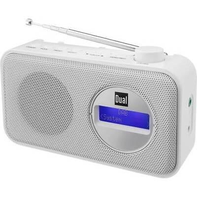 DAB+ Kofferradio Dual DAB 84 DAB+, UKW  Weiß