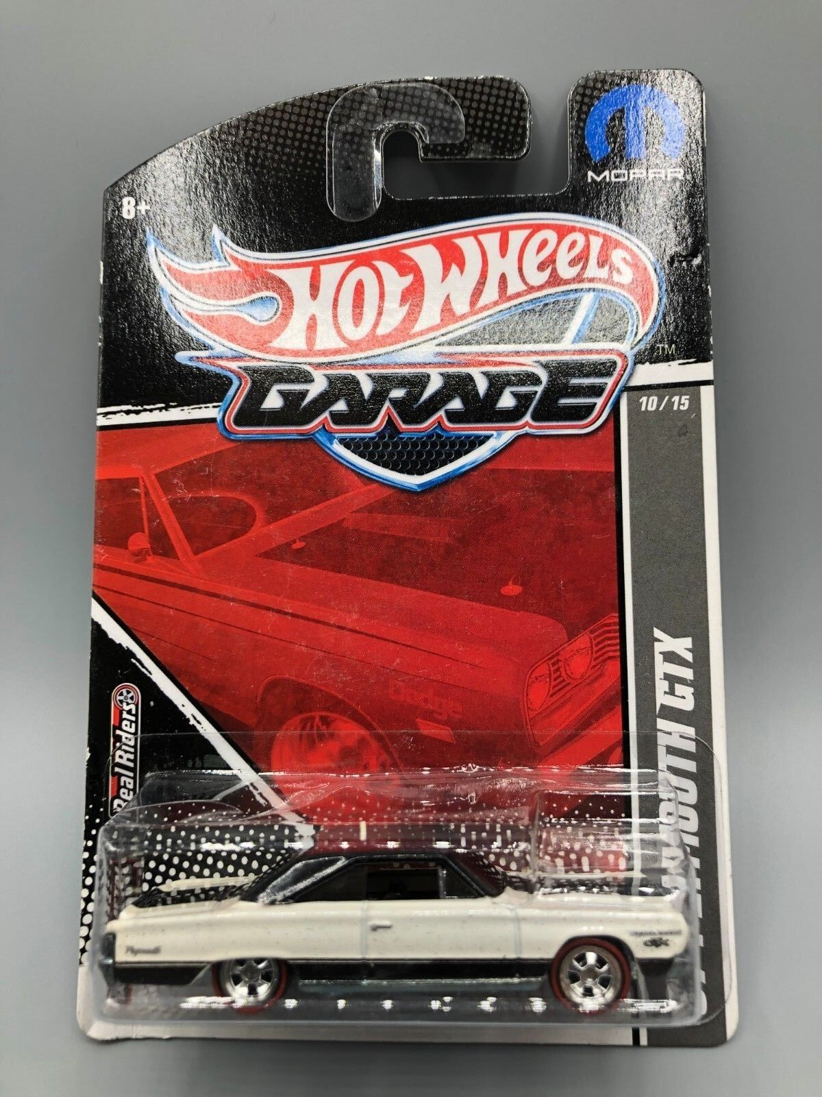 Hot Wheels Real Riders garaje 1967 Plymouth Gtx Nibp