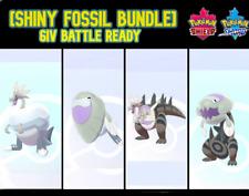 [SQUARE SHINY] BATTLE READY (6IV) FOSSIL POKEMON
