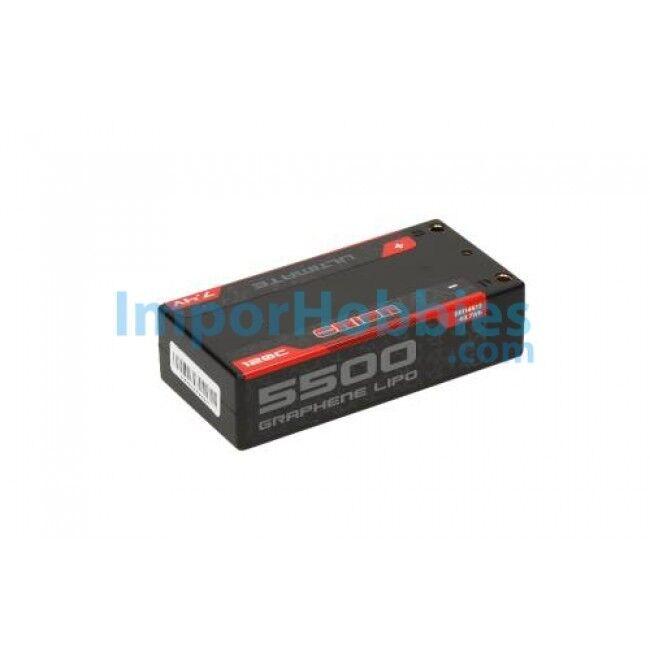 Batería Lipo Team Orion Ultimate Graphene Shorty 2S 7.4V 5500Mah 120C ORI14513