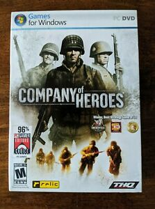 Company Of Heroes Pc 2006 Dvd Game For Windows Thq New Sealed Ebay