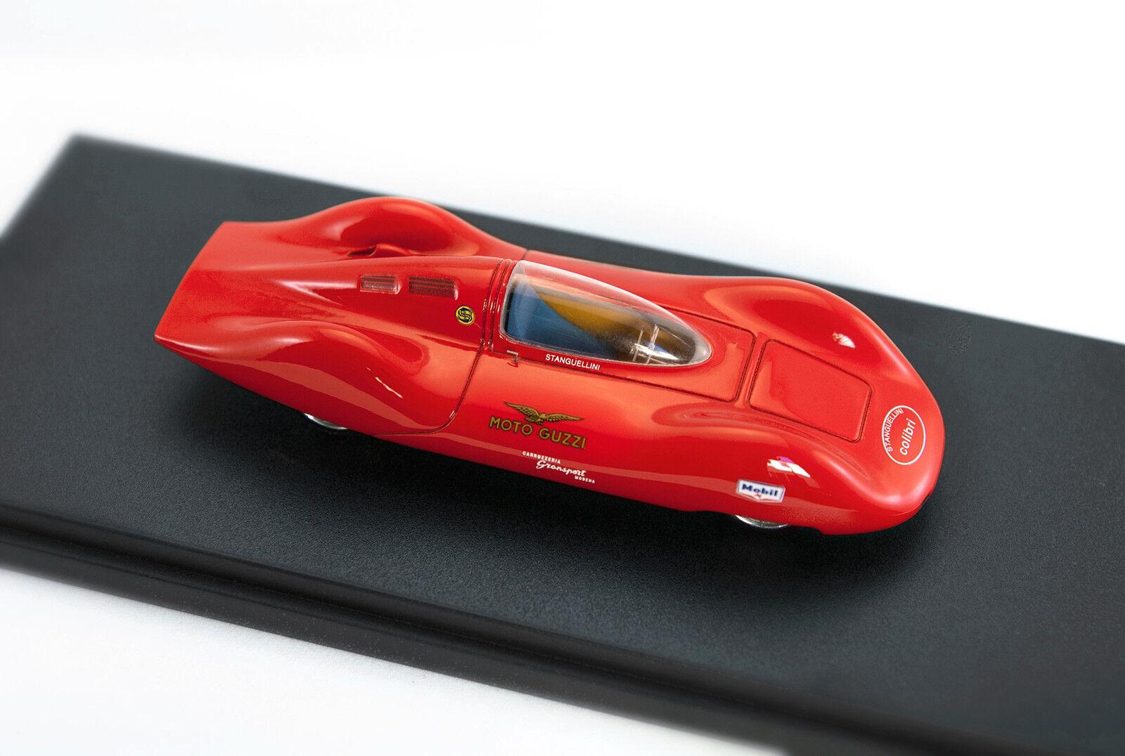Land Speed Record car Stanguellini COLIBRI' 1963 scala 1 43 ASSEMBLATO