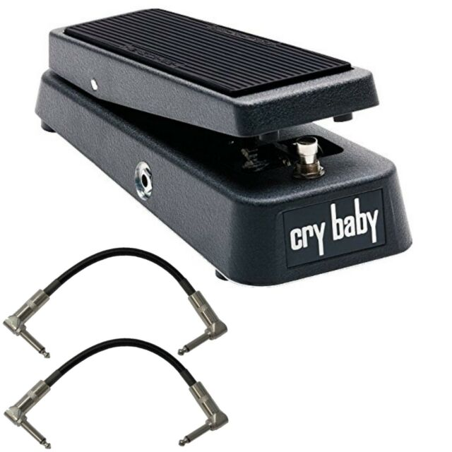 dunlop crybaby gcb95 classic wah pedal w2 patch cables for sale online ebay. Black Bedroom Furniture Sets. Home Design Ideas