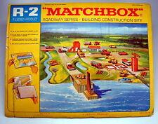 "Matchbox R-2C ""Baustelle"" Roadway 1968 noch originalverschweisst"