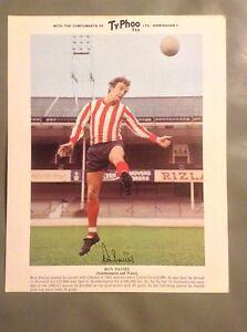 Typhoo-Tea-Football-Card-Ron-Davies-Southampton-Wales