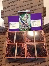 400-cd Lot of Assorted YuGiOh Commons w/1st Ed & Bonus Rare+Super Rare+Star Pack