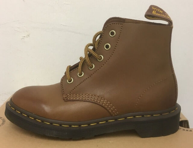 2d00aa3f01f Dr. Martens Ali Brown Rugged Servo Lux Leather BOOTS Size UK 3 for ...