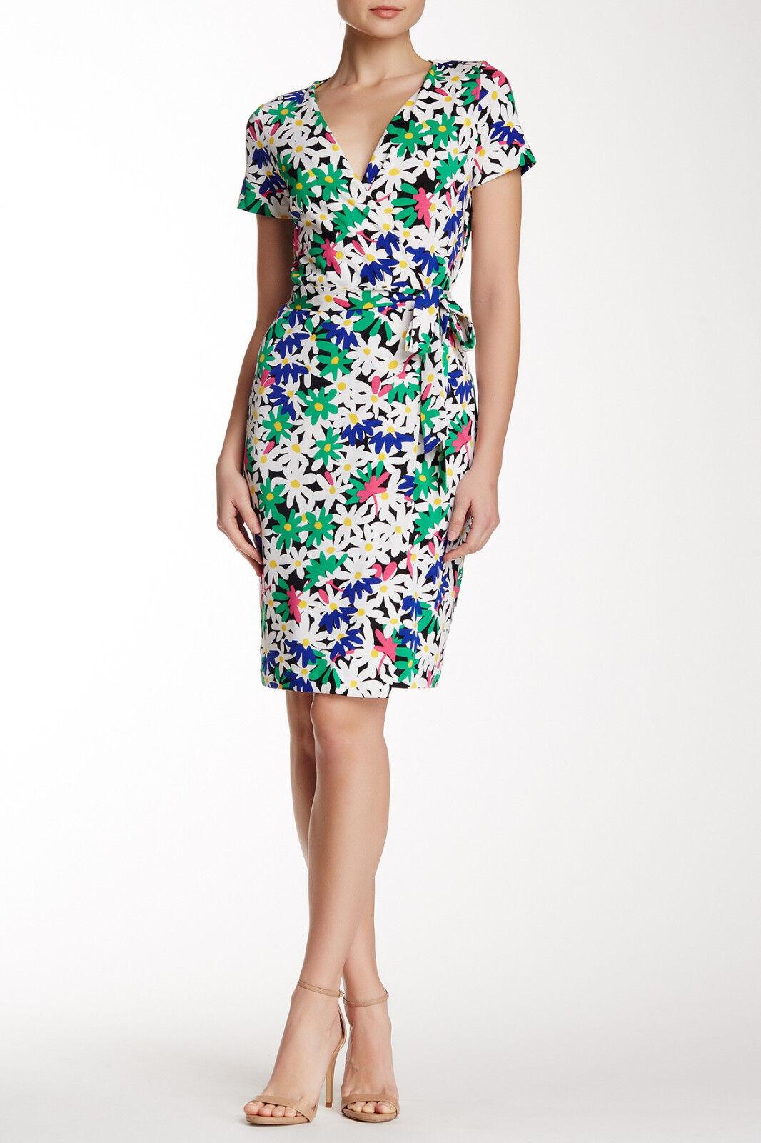 NWT  Diane Von Furstenberg DVF  New julianTwo  Wrap Dress 6