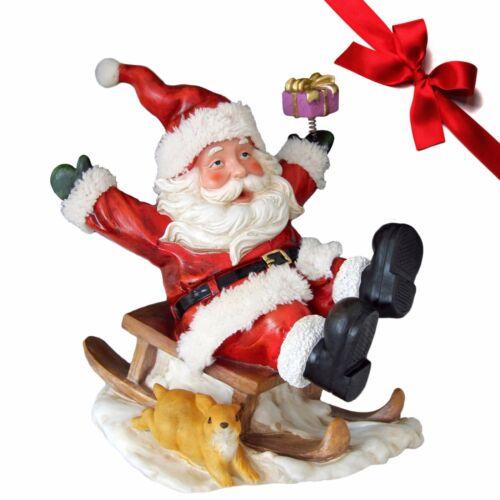 Weihnachtsmann Zippy Dekofigur Weihnachtsdekoration Nikolausfiguren Dekoration