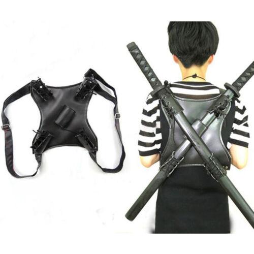 Mutant Ninja Turtles Deadpool Cosplay Strap Sword Back Holder Black Bag Holster