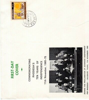 Red Salisbury Single first day cover album