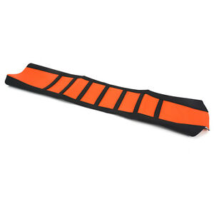 New Orange Universal Gripper Soft Seat Cover Rubber For