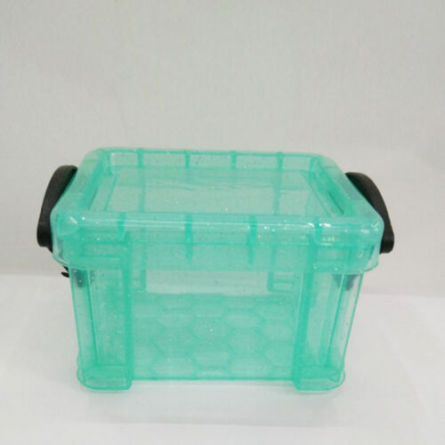 Transparent Storage Box Case Practical Container Organizer Mini With Lid Clear