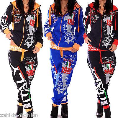 Women's Clothing Damen Jogginganzug Jogging Jacke Hose Sportanzug Sporthose Fitness Gold S-3xl Delaying Senility