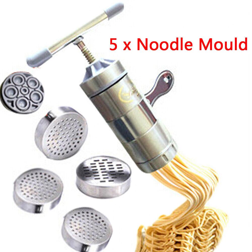 Aluminium Alloy Pasta Maker Noodle Press Machine Manual Food Making Equipment