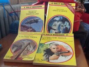4 volumi gialli: Carmichael, Brown, Berkeley, Bosse. - GIALLI MONDADORI - Italia - 4 volumi gialli: Carmichael, Brown, Berkeley, Bosse. - GIALLI MONDADORI - Italia