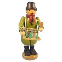 Standing Erzgebirge Craftsman Guy Incense Burner Smoker Made In Germany