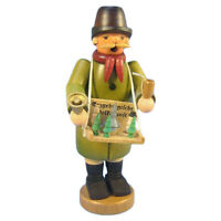 Standing Erzgebirge Craftsman Guy Incense Burner Smoker Made In Germany