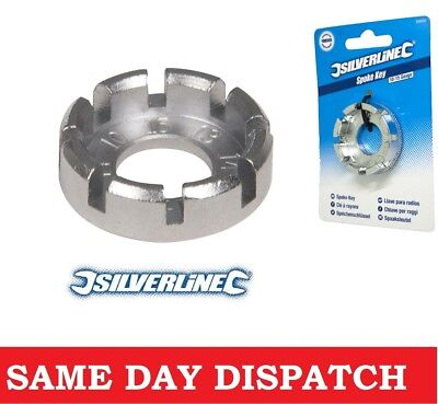 Silverline 10-15 Gauge Spoke Key