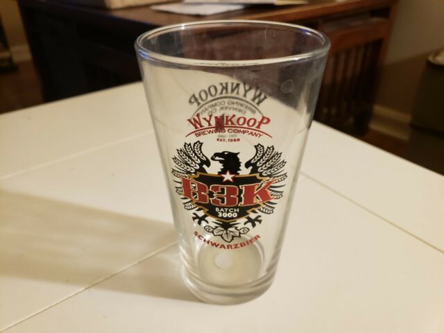 NEW BELGIUM BREWING CO ~ OLD TUFFY Lager RARE NC STATE Wolfpack Beer Pint Glass