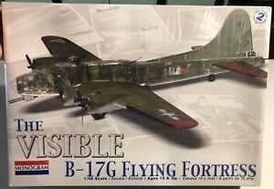 Monogram-The-Visible-B-17G-Flying-Fortress-1-48-FS-NEW-Model-Kit-Sullys-Hobbies