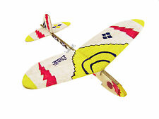 2pcs Lanyu Hand Launch Balsa Wood Glider Plane DIY Build&Paint Model Kit US 7011