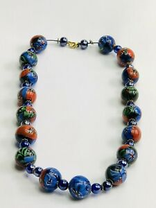 Chinese Glass Bead Necklace