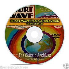 Short Wave Craft, Radio & Television, 125 Vintage Magazines Library CD DVD B65