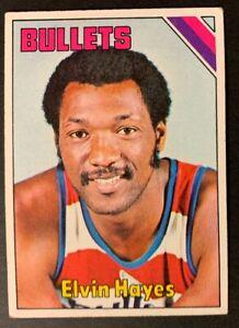 1975-76-Topps-Basketball-60-Elvin-Hayes-VG-EX-Bullets