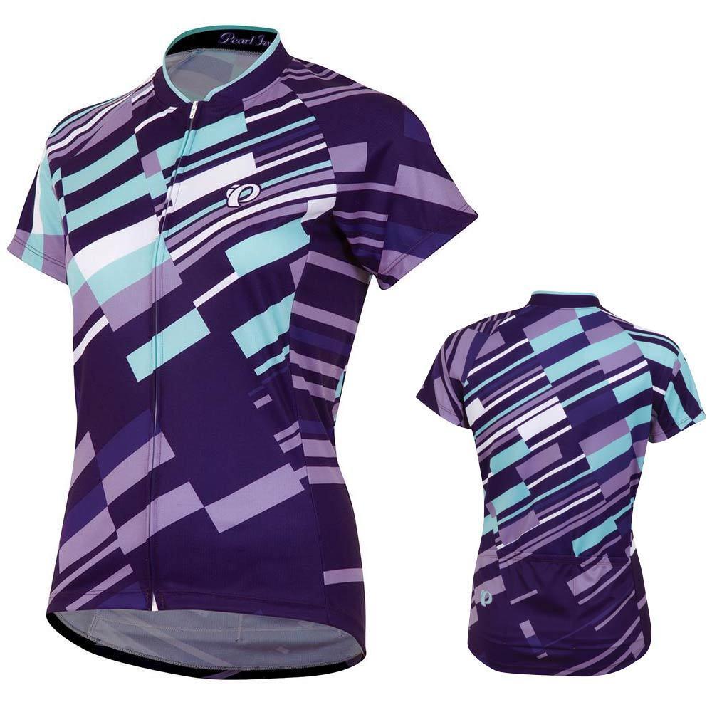 Pealr Izumi Mujer limitada Mountain Bike Jersey-púrpura Haze Azulejo-XL
