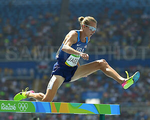 Evan Jager USA Silver Medal 2016 RIO Olympics Steeplechase 8x10 Photo