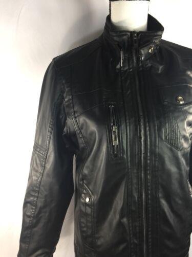 S Women Biker Of Zip Sleeve Læderjakke Up Minstray Long Fashion Black qBxvwZE1