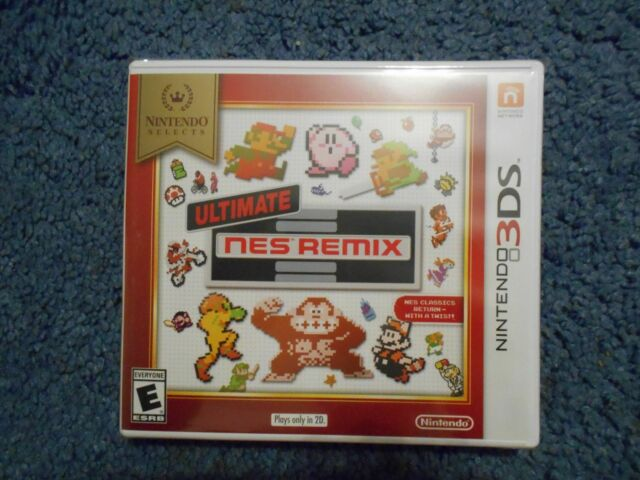 ULTIMATE NES REMIX NINTENDO SELECTS  3DS FACTORY SEALED   ***FREE FAST SHIP***