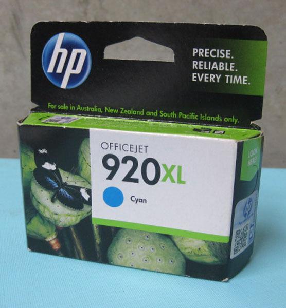 HP Genuine Set 920XLCyan CD972AA  Officejet 6000 6500 7000