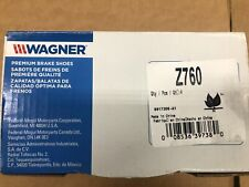 Drum Brake Shoe Rear Wagner Z723