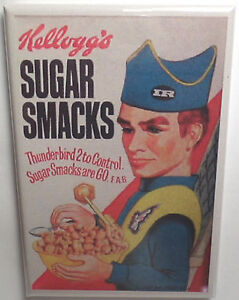 "Locker Magnet Sugar Smacks Cereal Box 2/"" X 3/"" Fridge Cute Clown!"