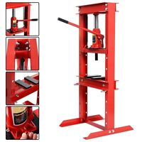 A+ Hydraulic Shop Press Floor Press 12 Ton H Frame Jack Stand Equipment Usa
