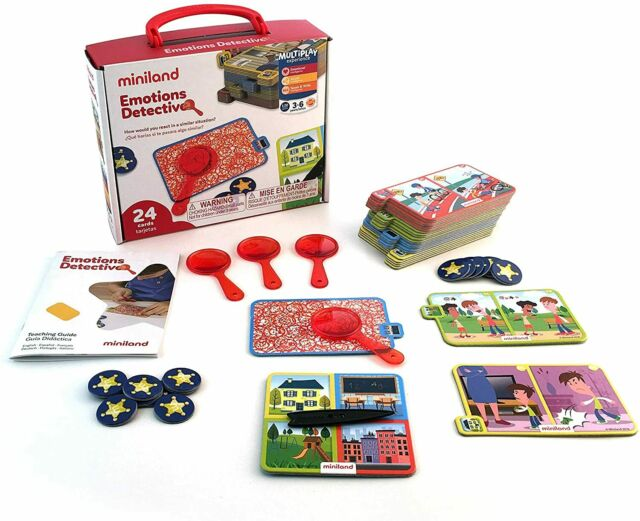 Emotions Detective Game Learning Playset (Miniland ...