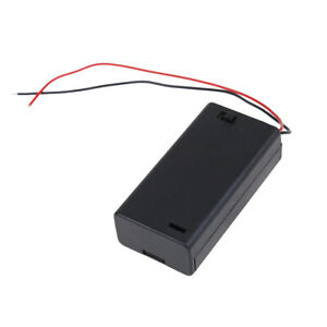 2x-AA-3V-battery-holder-connector-storage-case-box-ON-OFF-switch-039-with-lead-w-HF