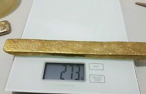 250 grams Scrap gold bar for Gold Recovery melted different computer coin pins