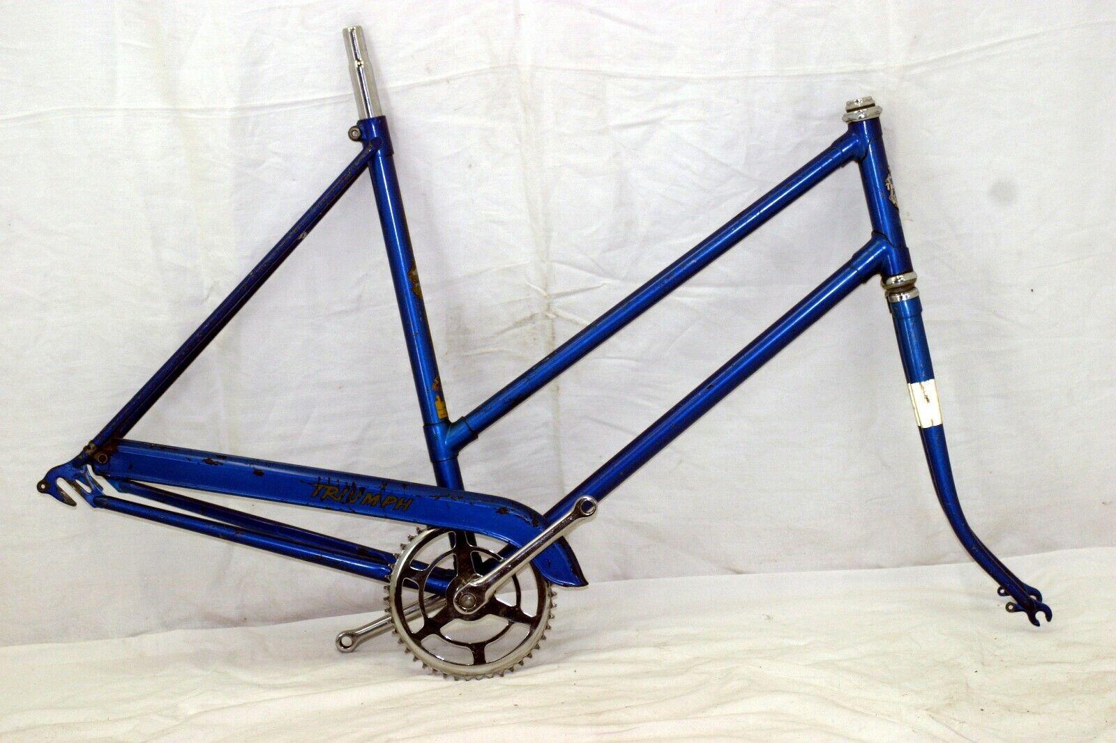 Triumph Clásicos Cruiser Bicicleta M 54cm 26  Horquilla Biela BB Hecho en