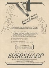 Y6639 Wahl EVERSHARP -  Pubblicità d'epoca - 1927 Old advertising